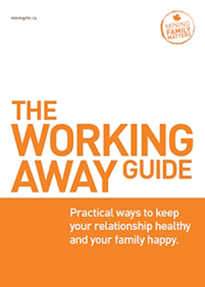 Working Away guide for Canadian families