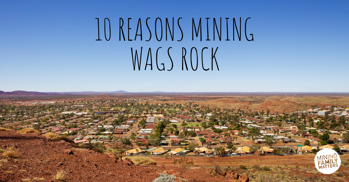 Why mining wives/partners ROCK!